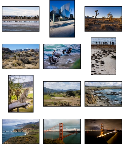 California in 12 Photographs