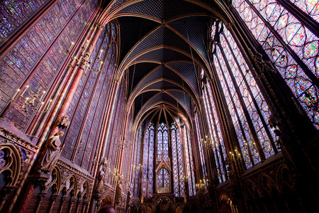 Sainte-Chapelle, Upper Chapel
